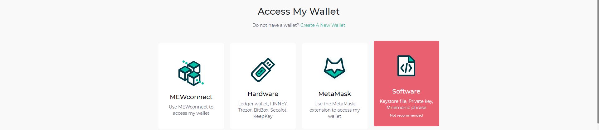 access my ether wallet
