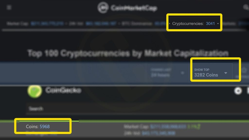 cryptocurrencies over full in market listings curexmy