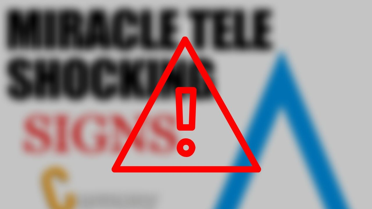 Miracle Tele Website Down Scam Alert
