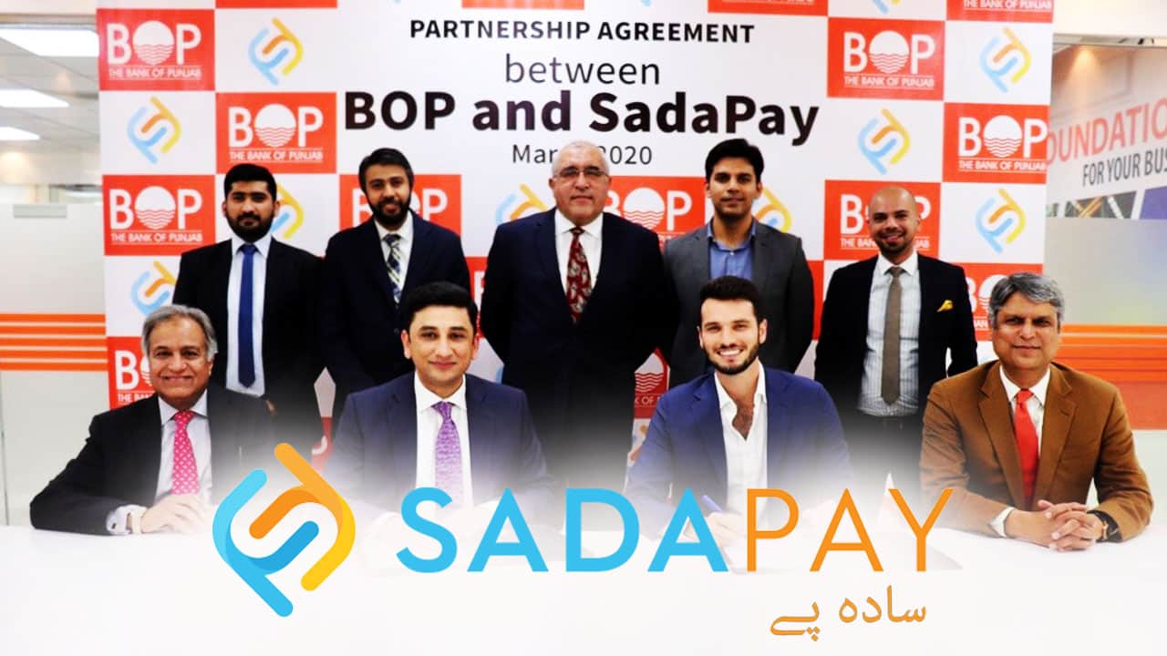 SadaPay Latest Announcements BOP Partnership & App Published Curexmy