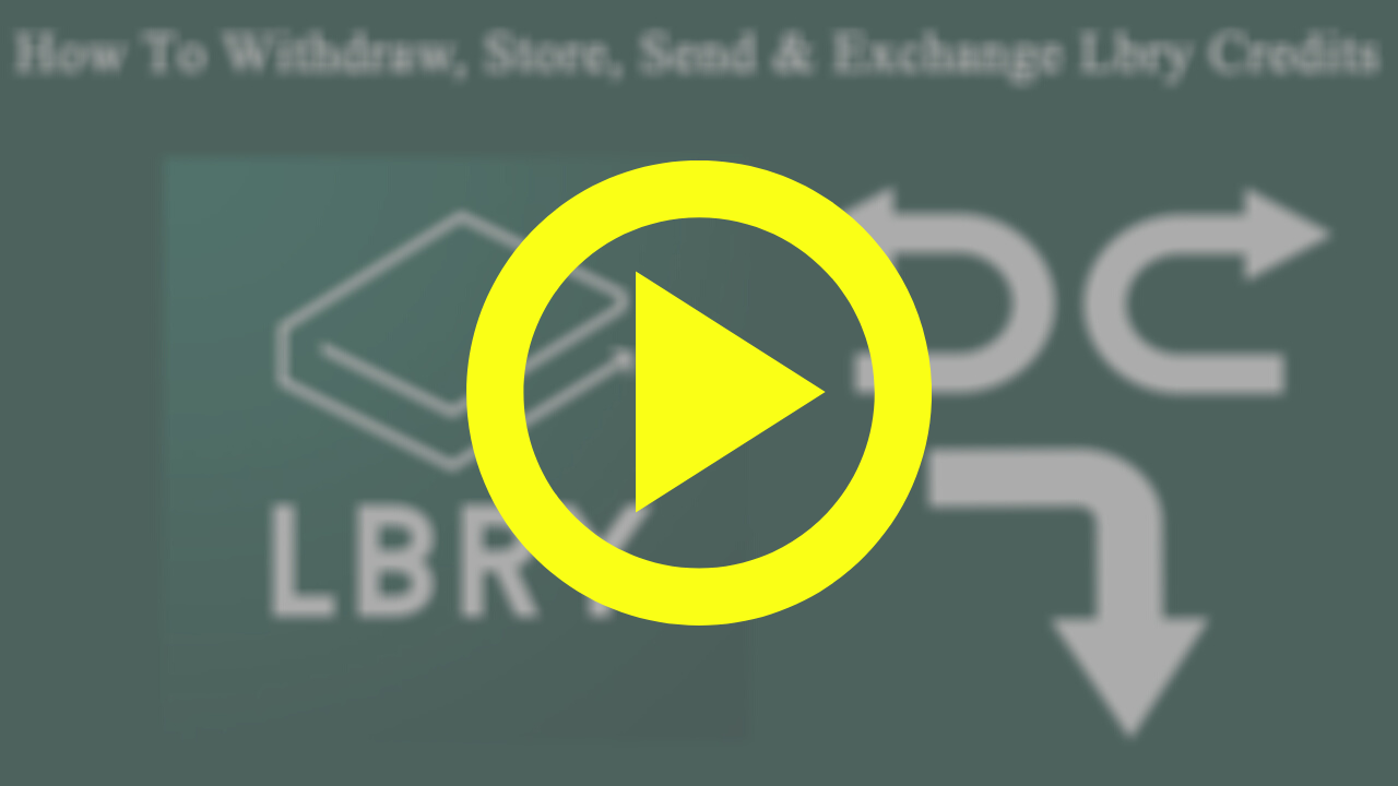 Watch: How To Withdraw LBC Coin On Lbry.Tv & Exchange To Native Currency