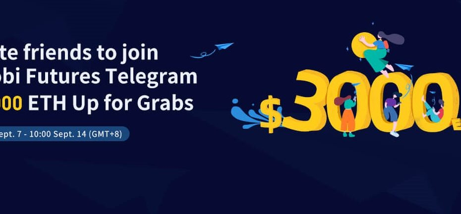 Huobi Exchange $3000 Futures Telegram Group Invitation Giveaway