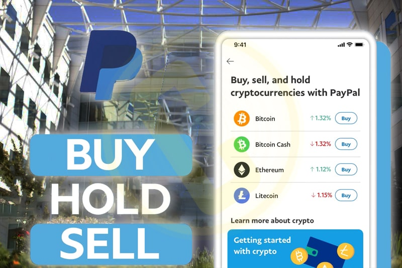 PayPal Started Allowing Users To Buy, Sell, Hold Cryptocurrencies