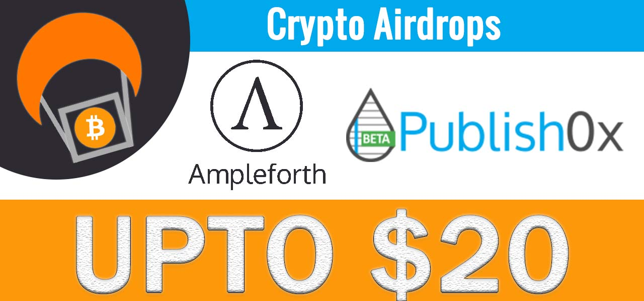 Ampleforth $1000 $AMPL Writing Contest & Giveaway Crypto Airdrop on Publish0x