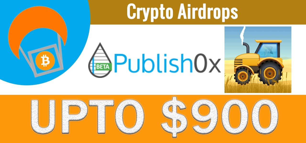 Harvest.Finance $900 $FARM Crypto Writing & Giveaway Contest Airdrop on Publish0x