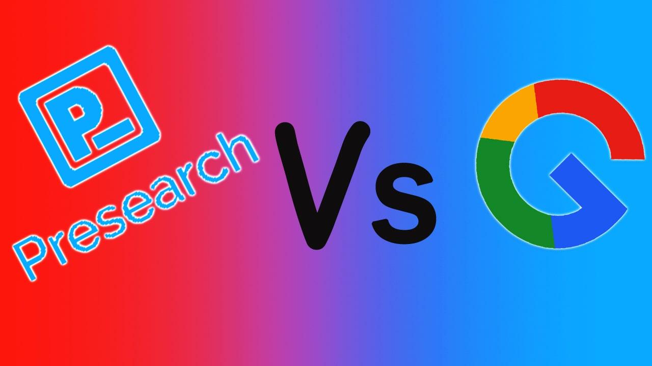 Presearch Vs Google Wait, What's The Comparison