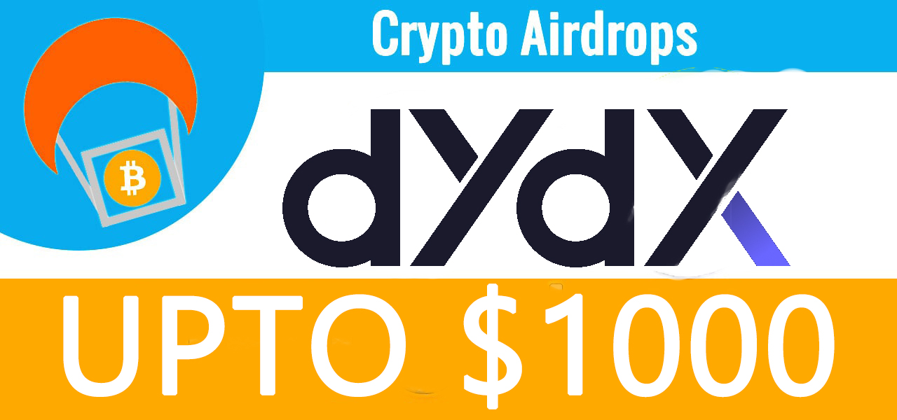 DYDX Protocol Airdrop To 64,000 Users Used Before July 26, 2021